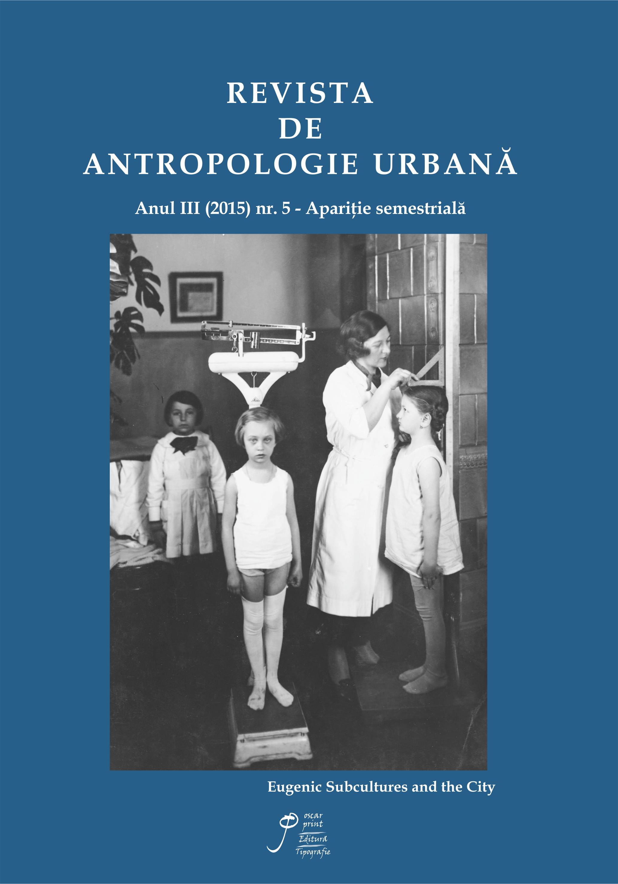 Revista de Antropologie Urbană Nr.5